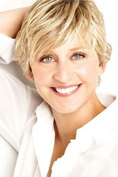 Ellen Degeneres... she is just beautiful... inside and out!!