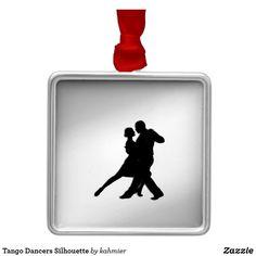 Tango Dancers Silhou
