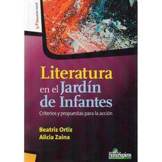 Literatura en el jardín de infantes Referencia  978-950-808-914-4 Condición:  Nuevo  Este libro desarrolla todos los aspectos que forman parte de la literatura y sus especificidades en la Educación Inicial.