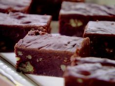 Colleen's Chocolate Fudge Recipe : Trisha Yearwood : Food Network - FoodNetwork.com