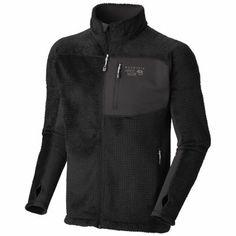 (Mountain Hardware) Hoodless Monkey Man™ Grid Jacket [Black]