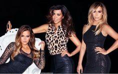 "kimkanyekimye: ""Khloe, Kourtney and Kim for Kardashian Kollection x Lipsy London, shot by Terry Richardson. """