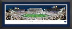Penn State University Nittany Lions - Beaver Stadium Panoramic Picture $199.95