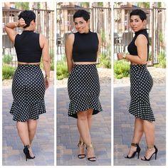 DIY Skirt Inspired By Dolce & Gabbana + Pattern Review of Burda 6955 |Mimi G Style: DIY Fashion Sewing