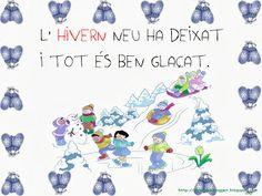 DITES DE MESOS i ESTACIONS Pre School, Album, Infants, Cos, Valencia, Murals, Winter, Party, Blue Prints