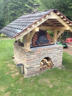 Gallery of baking ovens Diy Pizza Oven, Pizza Oven Outdoor, Pizza Ovens, Oven Design, Fire Pit Grill, Bread Oven, Four A Pizza, Backyard Fireplace, Small Backyard Design