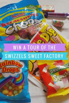 Swizzels sweetest invention.  Design your own sweet and win the chance to watch your sweet being made at the Swizzels Factory.  Click through for details on how to enter...  #Win #Competition #Sweets