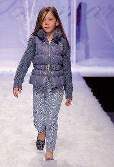 ALALOSHA: VOGUE ENFANTS: Miss Blumarine catwalk FW2013