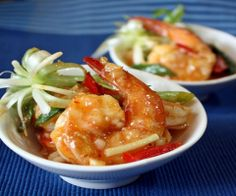 Stir-Fry Prawn with Sweet Chili Kaffir Lime