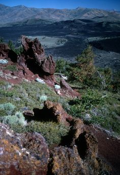 Big Cinder Butte view. Craters of the Moon NM, Idaho