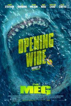 The Meg movie poster #themeg Fantastic Movie posters #SciFi movie posters #Horror movie posters #Action movie posters #Drama movie posters #Fantasy movie posters #Animation movie Posters