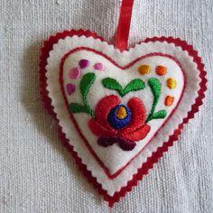 felt embroidery folk art sweden - Google Search