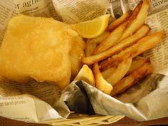 Gluten Free Beer Batter Fish & Chips
