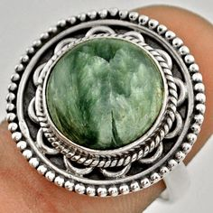 Items for sale by jewelexi Sterling Silver Rings, Natural, Green, Ebay, Sterling Silver Thumb Rings, Au Natural