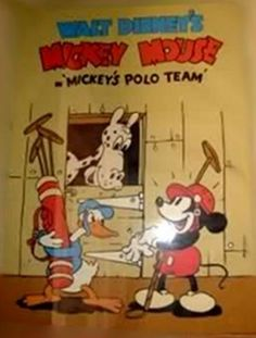 Mickey's Polo Team (1936)