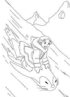 Avatar Tegninger til Farvelægning. Printbare Farvelægning for børn. Tegninger til udskriv og farve nº 19
