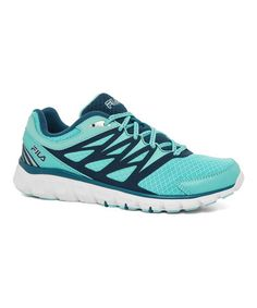 Love this Turquoise & White Memory Sendoff 2 Training Shoe on #zulily! #zulilyfinds