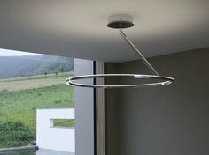 LED aluminium ceiling lamp CIRCOLO INSOSPESO | Ceiling lamp - Sattler