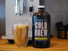 Grady's Cold Brew. Found via Cool Hunting report on James Victore's Dinner Series:  http://www.coolhunting.com/design/james-victore-dinner-series.php
