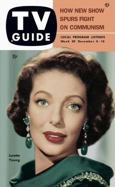 TV Guide, December 4, 1953 - Loretta Young