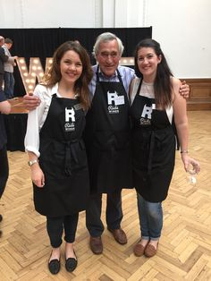 Caro, Gerald and Michelle at The Three Wine Men summer show 2016