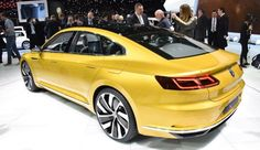 New Price 2015 Volkswagen C Coupe GTE Review and Release Rear Side View Model