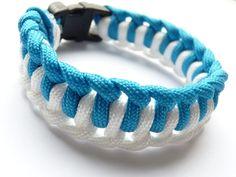 """Bracelet de Survie PARACORD """"L'OM"""" Très belle qualité : Bracelet par atelier-galia-and-co"""