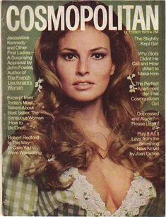 Here we have a hard to find Cosmopolitan Magazine from August 1967 featuring the gorgeous actress / model Raquel Welch on the cover along with 1 more image(shown) in the article below! Description from pinterest.com. I searched for this on bing.com/images