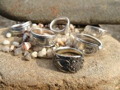silver spoon rings by spoon savvy