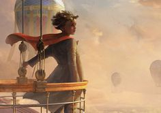 In the Clouds by Ryan Moeck, via Behance