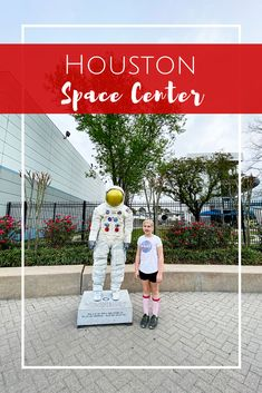 Houston Space Center in Texas Houston Space Center, Johnson Space Center, Visit Houston, Visit Texas, Stuff To Do, Things To Do, Kennedy Space Center, Travel With Kids, Spring Break