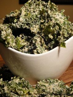 cracked pepper, sour cream and onion kale chips... http://nouveauraw.com/kale-chips/cracked-pepper-sour-cream-and-onion-kale-chips/