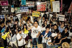 150911 SEALDs戦争法案に反対する国会前抗議行動
