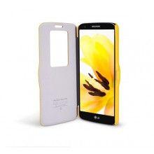 Funda LG G2 Nillkin - Fresh Series Window Amarillo  $ 134,80