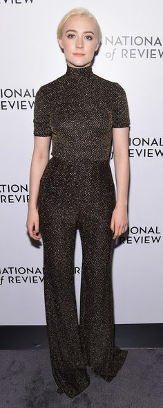 Saoirse Ronan in Emilia Wickstead attends the National Board of Review Annual Awards Gala. #bestdressed