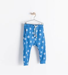 toddler girls POLKA DOT TROUSERS from Zara
