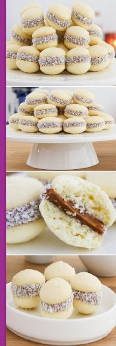 Cookie Recipes, Dessert Recipes, Chilean Recipes, Mini Desserts, Love Food, Sweet Recipes, Bakery, Brunch, Food And Drink