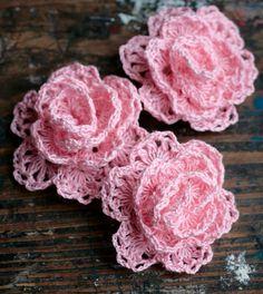 Crochet Linen Rose Brooch  pink by namolio on Etsy (Accessories, Pin, Crochet, brooch, crochet, rose, linen, natural, uk, women, gift, rosette, flower, pin, corsage, pink)
