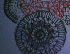 Hola hoy he hecho este dibujo de la Mini Mouse.🐭🐭