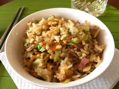 Fiam, Wok, Bacon, Grains, Cooking Recipes, Foods, Food Food, Food Items, Chef Recipes