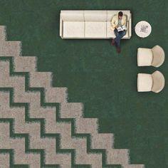 Carpete Modular Urban Retreat Spread | Interface