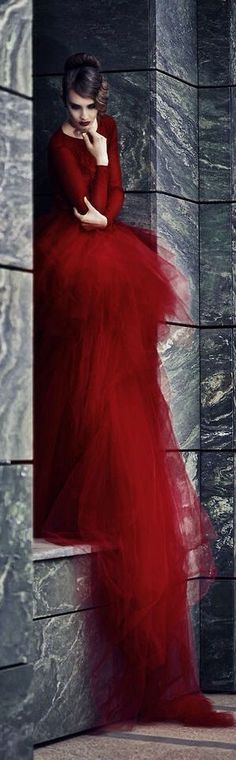 Best of the best/karen cox. stunning red gown.