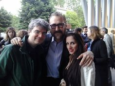 Me, Giusy Genovese & Marco Giallini /// Nastri d'Argento - MAXXI Roma - May 30th 2013 30th, Around The Worlds, Stars, Couple Photos, Couples, Life, Couple Shots, Couple, Star