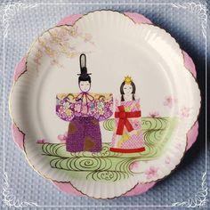 桃の節句 飾り皿 雛祭り ひなまつり