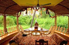 To cruise the waters of Kumarakom, Kerala, India, in the luxury of an Indian reed house boat.
