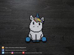 Petite Licorne Perles Hama / Little Unicorn Perler Beads