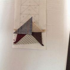 Coser y Coser Patchwork: Tutorial Vuelo de la Oca. Paper Piecing, Quilts, Diy, Blog, Ideas, Home, Quilting Patterns, Little Things, Hand Fans