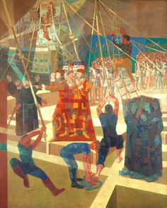 Descobrimento do Brasil, 1954 Cândido Portinari (Brasil, 1903-1962) Painel de 5 m x 4 m Acervo do Banco Central