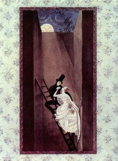 Fairy-tales of Hans Christian Andersen Illustrations by Kay Nielsen - The Shepherdess and the Chimney-Sweeper