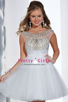 2014 Hot Selling Scoop Sleeveless Princess A Tulle Prom Dress
